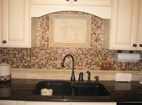 Recently updated kitchen with copper flecked granite counters and top of the line appliances